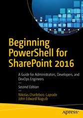 Beginning PowerShell for SharePoint 2016 - A Gu...