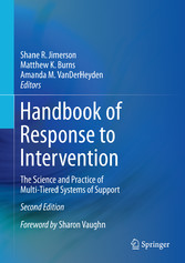 Handbook of Response to Intervention - The Scie...