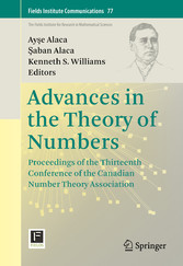 Advances in the Theory of Numbers - Proceedings...