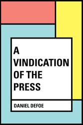 A Vindication of the Press