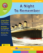 A Night To Remember (Novel Study)