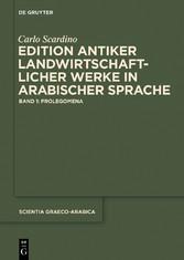 Edition antiker landwirtschaftlicher Werke in a...