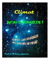 Climat : non coupables ! - COP21 : les révélati...