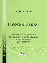 Histoire dun pion - Suivie de Lemploi du temps ...