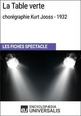 La Table verte (chorégraphie Kurt Jooss - 1932)...