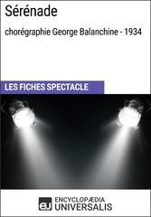 Sérénade (chorégraphie George Balanchine - 1934...