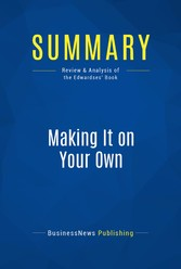 Summary: Making It on Your Own - Review and Ana...