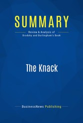 Summary: The Knack - Review and Analysis of Bro...