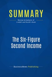 Summary: The Six-Figure Second Income - Review ...