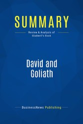 Summary: David and Goliath - Review and Analysi...
