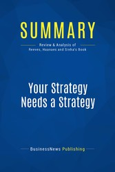 Summary: Your Strategy Needs a Strategy - Revie...