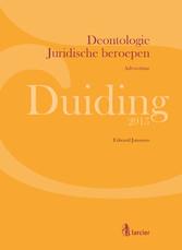 Duiding Deontologie Juridische beroepen: advoca...