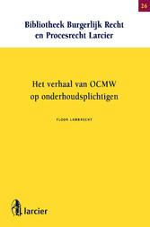 Het verhaal van OCMW op onderhoudsplichtigen