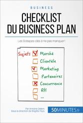Checklist du business plan - Les 9 étapes-clés ...