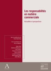 Les responsabilités en matière commerciale - Ac...