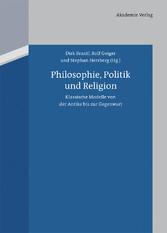Philosophie, Politik und Religion - Klassische ...
