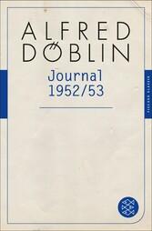 Journal 1952/3