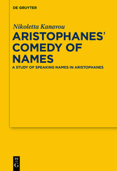 Aristophanes Comedy of Names - A Study of Speak...