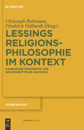Gotthold Ephraim Lessings Religionsphilosophie ...