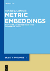Metric Embeddings - Bilipschitz and Coarse Embe...