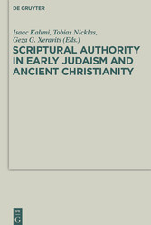 Scriptural Authority in Early Judaism and Ancie...
