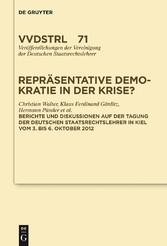 Repräsentative Demokratie in der Krise? - Refer...