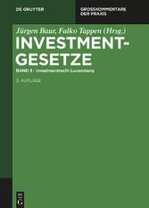 Investmentrecht Luxemburg