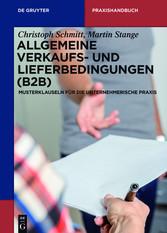 Allgemeine Verkaufs- und Lieferbedingungen (B2B...