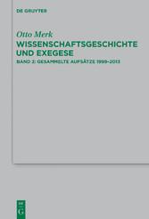 Gesammelte Aufsätze 1998-2013