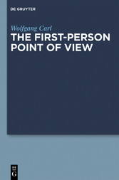 The First-Person Point of View - First-Person P...