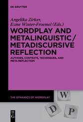 Wordplay and Metalinguistic / Metadiscursive Re...