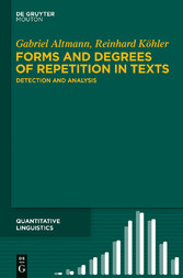 Forms and Degrees of Repetition in Texts - Dete...