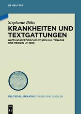 Krankheiten und Textgattungen - Gattungsspezifi...