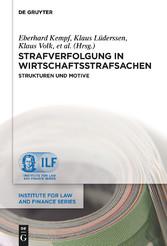 Strafverfolgung in Wirtschaftsstrafsachen - Str...