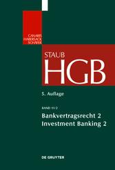 Bankvertragsrecht - Investment Banking II