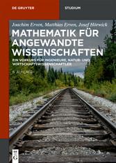 Mathematik für angewandte Wissenschaften - Ein ...