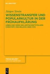 Wissenstransfer und Popularkultur in der Frühau...