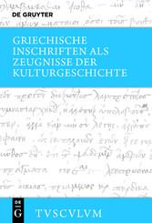 Griechische Inschriften als Zeugnisse der Kultu...