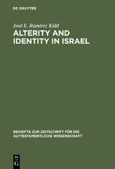 Alterity and Identity in Israel - The ger in th...