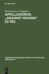 Apollodoros Against Neaira [D 59] - Ed. with In...