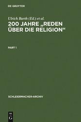 200 Jahre Reden über die Religion - Akten des 1...
