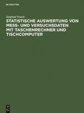 Statistische Auswertung von Mess- und Versuchsd...