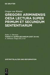 Super Secundum (Dist 24-44) bei Ciando - eBooks