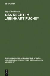 Das Recht im Reinhart Fuchs