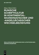 Runische Schriftkultur in kontinental-skandinav...