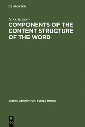 Components of the Content Structure of the Word