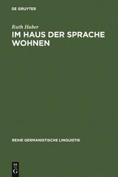 Im Haus der Sprache wohnen - Wahrnehmung und Th...