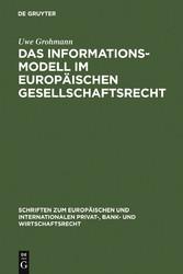 Das Informationsmodell im Europäischen Gesellsc...