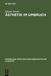 Ästhetik im Umbruch - Zur Funktion der >Rede üb...