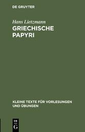 Griechische Papyri